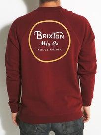 Brixton Wheeler Crew Sweatshirt