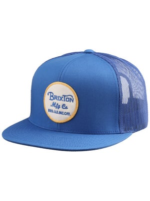 Brixton Wheeler Mesh Hat Washed Royal