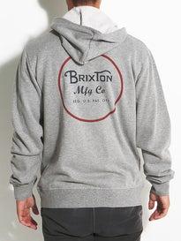 Brixton Wheeler Hoodzip