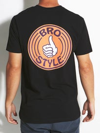 Bro Style Color Logo T-Shirt