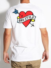 Bro Style Heart Color T-Shirt