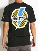 Bro Style Lightning Bolt T-Shirt
