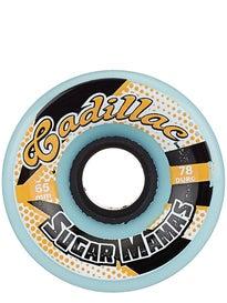Cadillac Sugar Mamas 78a Blue Slide Wheels