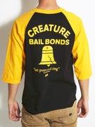Creature Bad News 3/4 Sleeve Raglan Shirt
