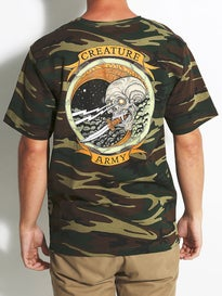 Creature Army T-Shirt  Camo