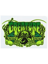 Creature Creek Freak Sticker