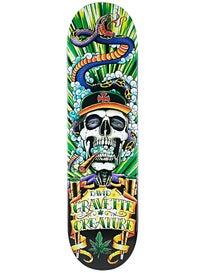 Creature Gravette Hippie Skull 4 Deck  8.26 x 31.7