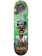 Creature Gravette Hippie Skull III Deck  8.26 x 31.7
