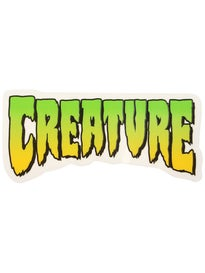 Creature Logo 4 x 2 Sticker