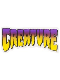Creature Logo 5 Sticker\ urple