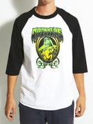 Creature Psych 3/4 Sleeve Raglan Shirt