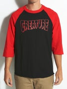 Creature Rev Logo 3/4 Sleeve Shirt