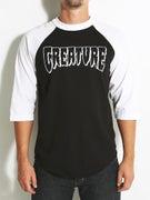 Creature Rev Logo 3/4 Sleeve Shirt