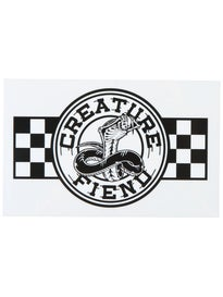 Creature Strike Fast Sticker