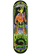 Creature Graham Hesh Tripper Deck  9.0 x 33