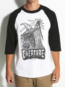 Creature Wizzard 3/4 Sleeve Raglan T-Shirt