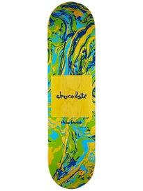 Chocolate Brenes Sumi Chunk Deck  8.0 x 31.63