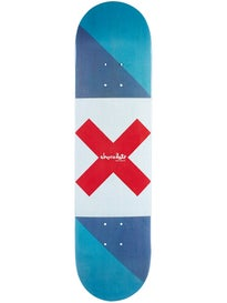 Chocolate Roberts Battle Flag Deck  8.0 x 31.875