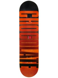 Chocolate Brenes League Fade Deck  8.0 x 31.625