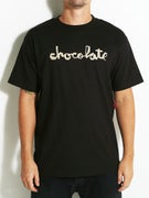 Chocolate Distressed Chunk T-Shirt