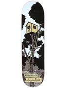 Chocolate Berle Tree House Deck  8.5 x 32.25