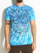 Chocolate Garvy Washed Tie-Dye T-Shirt