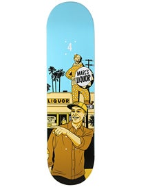 Chocolate Johnson City Series Deck  8.125x31.3