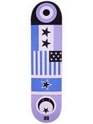 Chocolate Eldridge Flags Deck  8.0 x 31.875