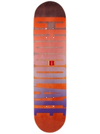 Chocolate Eldridge League Fade Deck  7.875 x 31.25