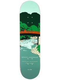 Chocolate Anderson Park Service Deck  8.125 x 31.625