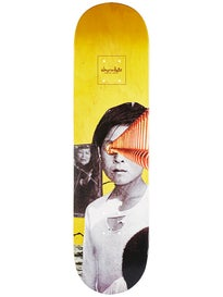 Chocolate Perez Dru Collage Deck  8.25 x 31.625