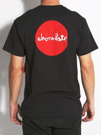 Chocolate Red Dot Pocket T-Shirt