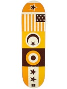 Chocolate Tershy Flags Deck  8.375 x 32