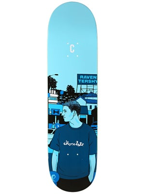 Chocolate Tershy City Series Deck  8.5x32.25