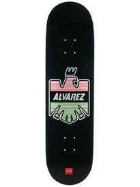 Chocolate Alvarez Eagle Deck  8.25 x 32