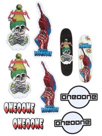 Cliche Heritage 101 Sticker 10 Pack