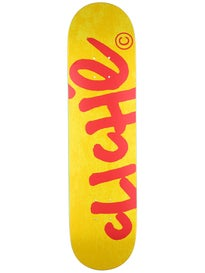 Cliche Handwritten Classic Yellow/Red Deck  7.75 x 31.1