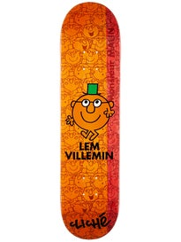 Cliche Villemin Monsieur Madame Orange Deck 7.75 x 31.1