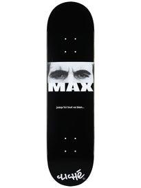 Cliche Max Geronzi Pro Debut Deck  8.0 x 31.7