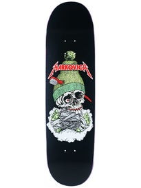 Cliche 101 Markovich Skull Silk Screen Deck 8.25 x 31.8