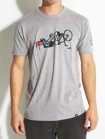 Cliche Tour de Velo Premium T-Shirt