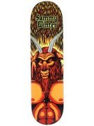 Cliche Winter Satan Deck  8.25 x 31.7