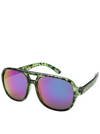Creature Cabanaz Creeper Sunglasses  Green Tortoise