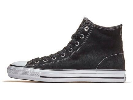 11cabbc511f Converse CTAS Pro Hi Shoes Black Black White Suede