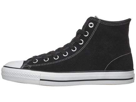 5b2ae89b72bd Converse CTAS Pro Hi Shoes Black Black White Suede