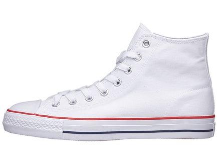 762372d71256 Converse CTAS Pro Hi Shoes White Red Blue Canvas