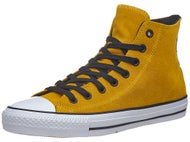 Converse CTAS Pro Hi 90's Shoes  Yellow/Black/Obsidian