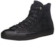 Converse CTAS Pro Hi Shoes  Black/Black Suede