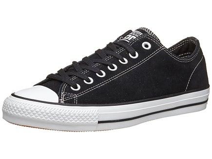 Converse CTAS Pro Shoes  Black/White Suede