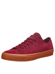 Converse CTAS Pro Ox Shoes  Deep Bordeaux/Gum Suede